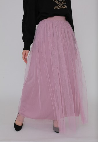 TUTU SKIRT IN DUSTY PURPLE