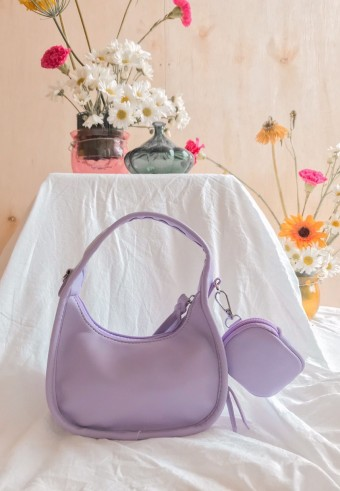 Seri Round Bag In Grape