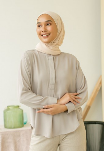 Juliet Blouse In Grey