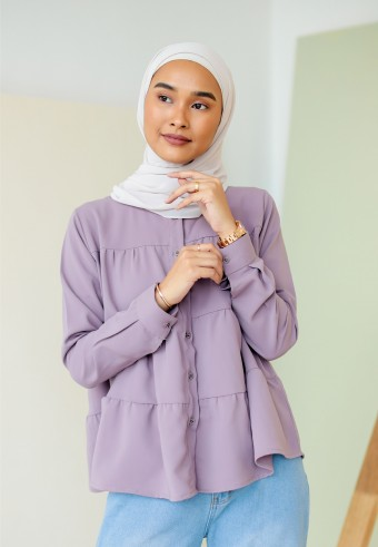 Mary blouse in mauve