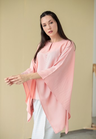 Widuna top in peach