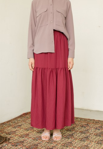 Wida Skirt In Cherry
