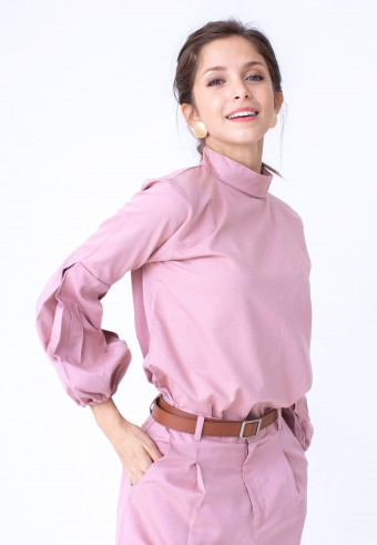 EIWIN TOP IN DUSTY PINK