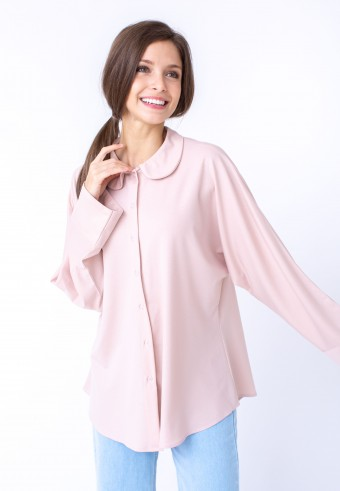 KANA TOP IN CREAM PINK