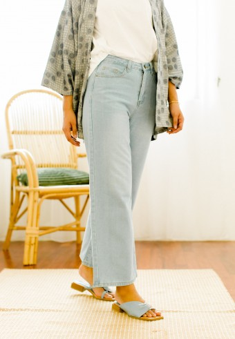 Edin denim pants in  Light blue