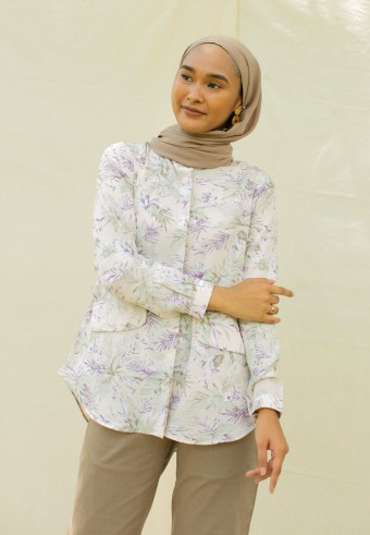 Andrea blouse in Violet