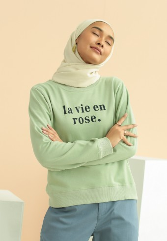 La vie en rose in mint
