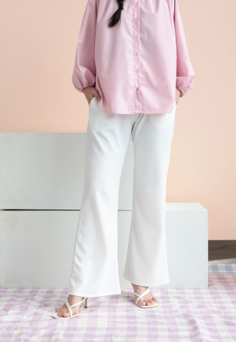 Harper pant in white