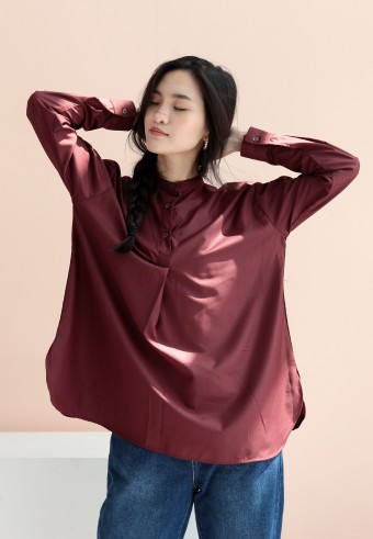 Rayla top in maroon