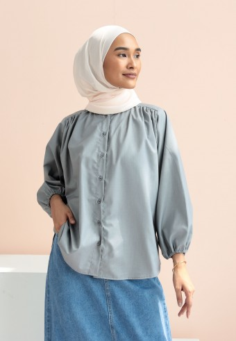 Frany top in grey