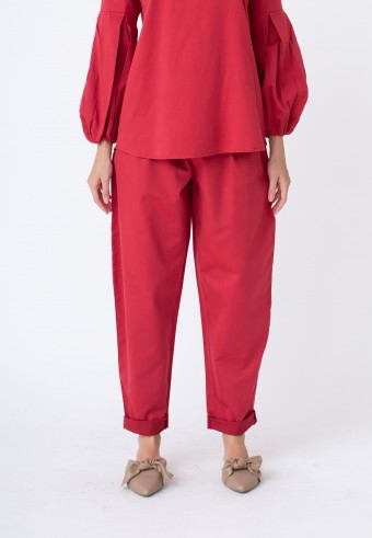 EIWIN PANT IN RED