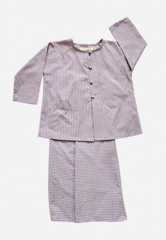 Mesra Segi Kurong Kids in Purple