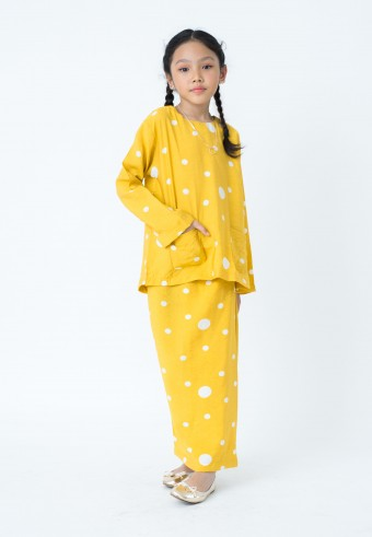 SALIMAH kids IN YELLOW (Preorder)