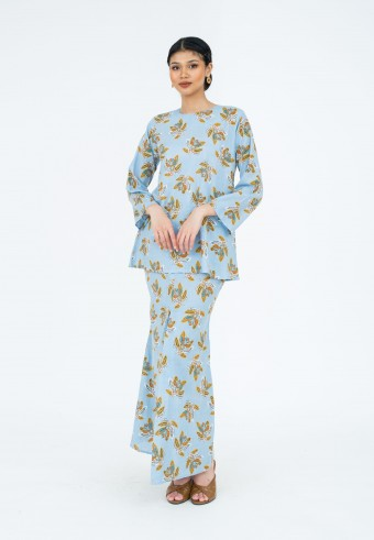 Jalinan Mekar Kurong In Blue Yellow