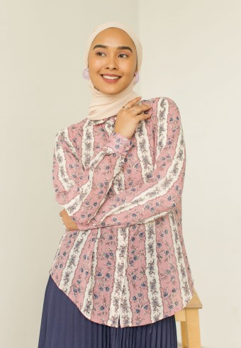 Sally Blouse In Yam