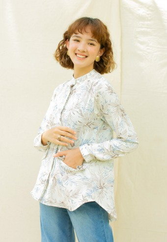 Andrea blouse in Blue