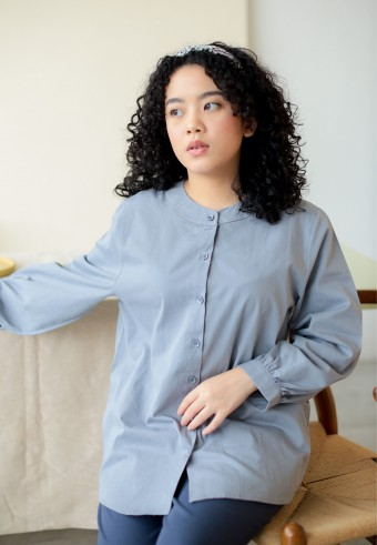 Tria top in grey