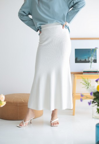 Lise skirt in white