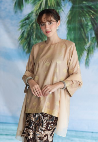 Rania top in coklat