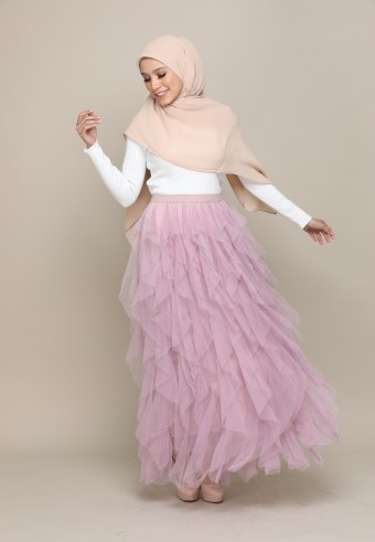 A-CUT TUTU SKIRT IN PINK