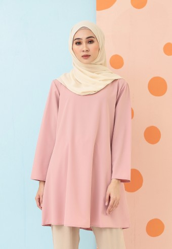 MIDI PLAIN TOP IN PINK