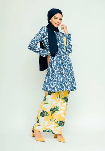 ASIAH KURONG PAHANG IN BLUE & YELLOW
