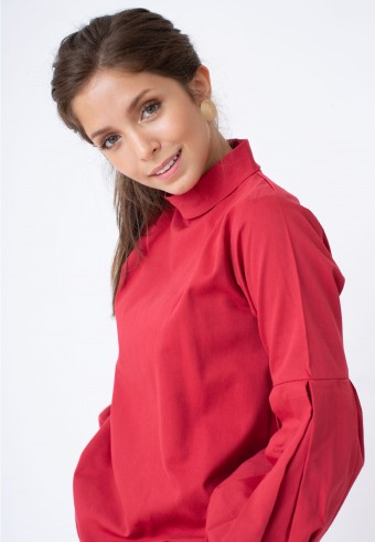 EIWIN TOP IN RED
