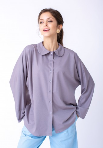KANA TOP IN GREY