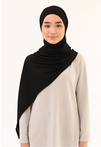 WHISH COTTON SHAWL IN OREO