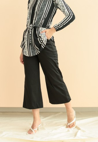 Eshal culottes in charcoal