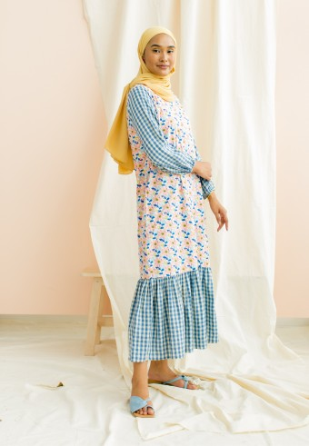 Ditsy dress in bahama