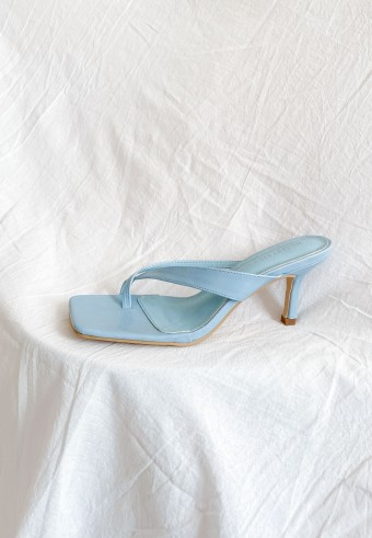 Pop Sugar Mid heel in Aqua