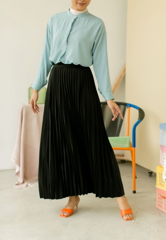 Bahama Pleated Skirt In Black