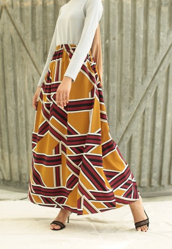 QEA RTW SERIES IN BROWN MAROON