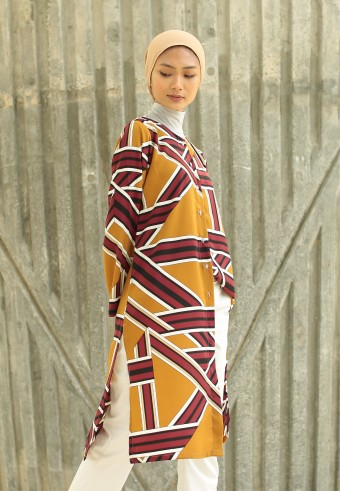 KALEA RTW SERIES IN BROWN MAROON