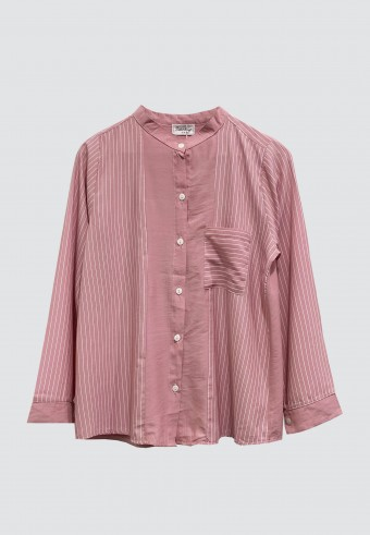 KOREAN STYLE STRIPED TOP IN PINK