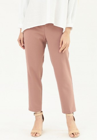 PLAIN FORMAL PANT IN PINK