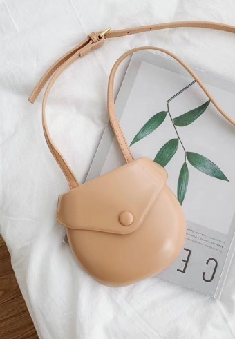 MINI SLING BAG IN APRICOT