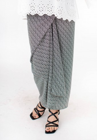 SIMPUL PARIO IKAT IN DARK GREY