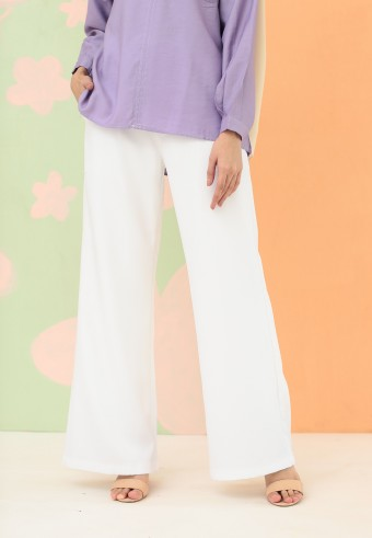 BOOTCUT PANT IN WHITE