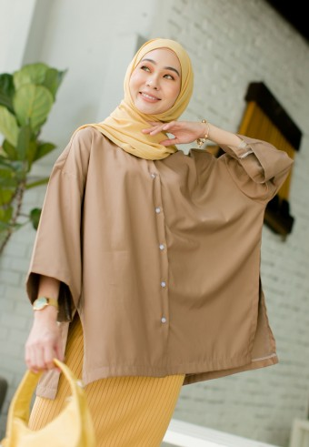 Beccy blouse in Wood