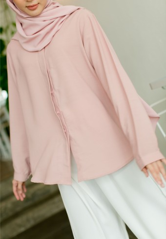 Lesly blouse in Blush