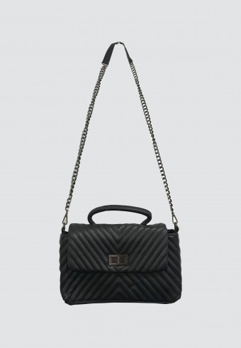 LYDIA SLING BAG IN BLACK