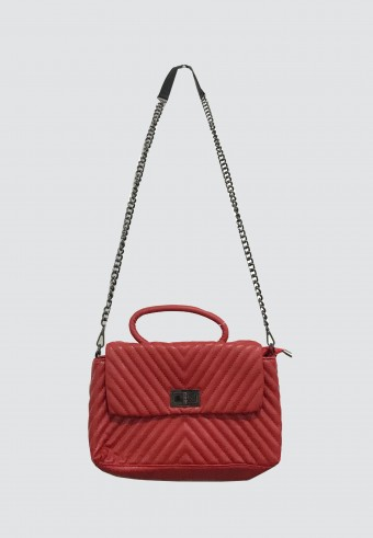 LYDIA SLING BAG IN RED