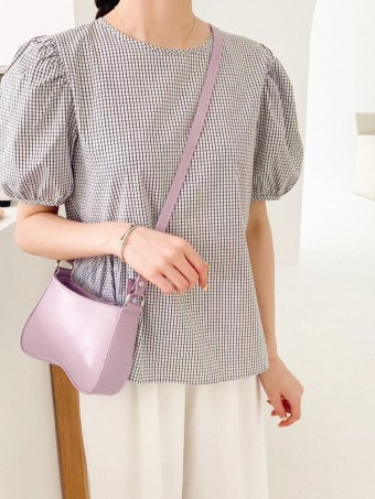Lady B Shoulder Bag In Lavender