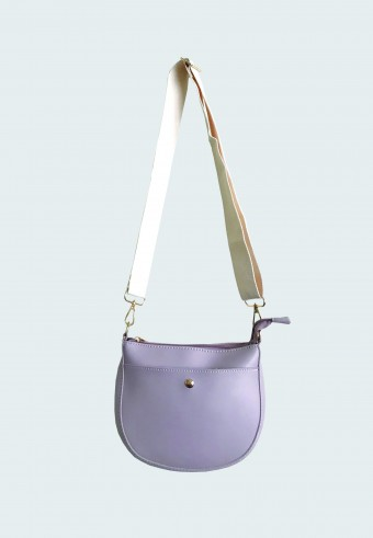 SADDLE LONG STRAP BAG IN LIGHT PURPLE