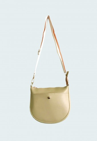 SADDLE LONG STRAP BAG IN LIGHT BROWN