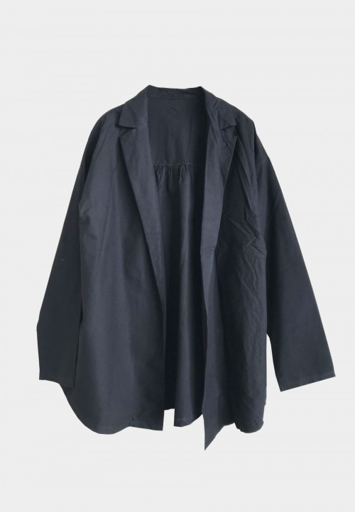 BASIC COTTON OUTERWEAR IN BLACK 1
