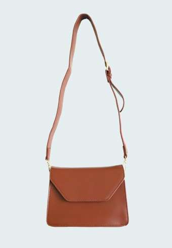 SATCHEL BAG IN BROWN 14