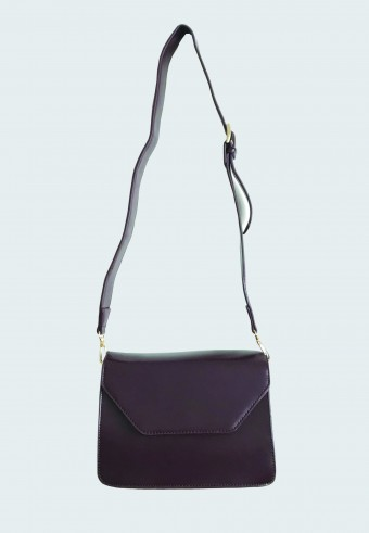 SATCHEL BAG IN DARK PLUMP 232